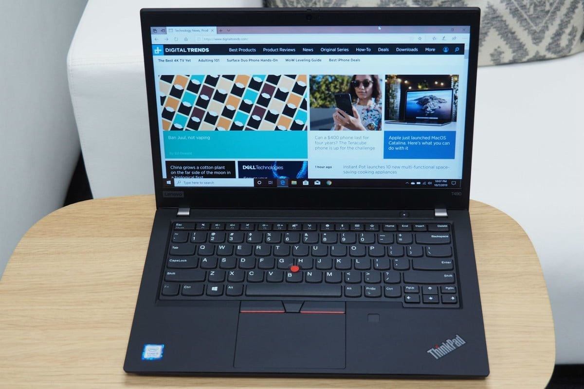LAPTOP THINKPAD T490